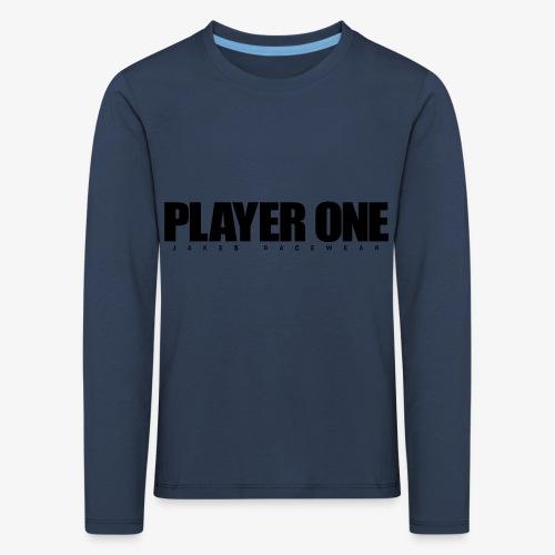 GET READY PLAYER ONE! - Børne premium T-shirt med lange ærmer