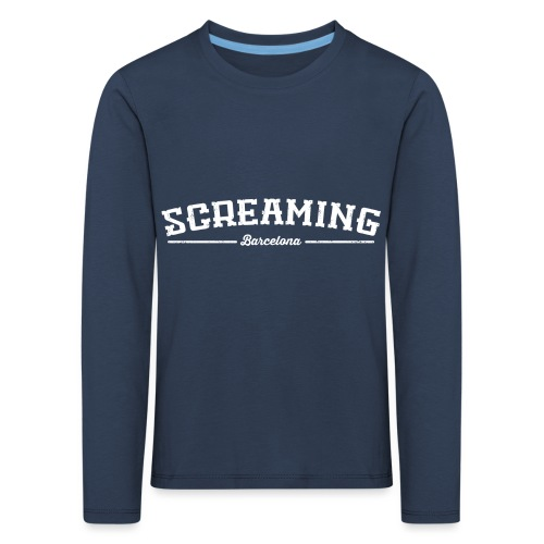 SCREAMING - Camiseta de manga larga premium niño