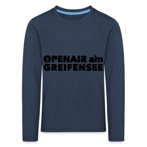 Openair am Greifensee 2018 - Kinder Premium Langarmshirt