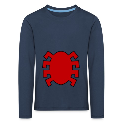 spiderman back - Kids' Premium Longsleeve Shirt
