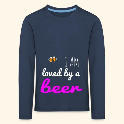 Birra Beer - Maglietta Premium a manica lunga per bambini