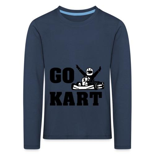Go kart - T-shirt manches longues Premium Enfant