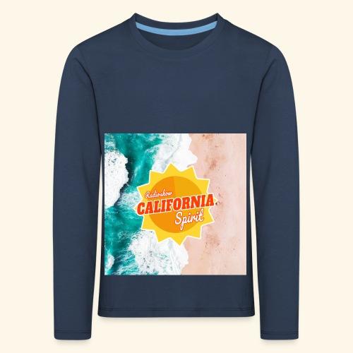 California Spirit Surfin - T-shirt manches longues Premium Enfant