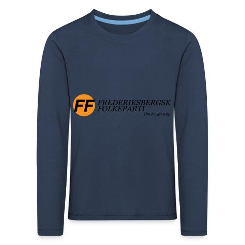 Din by, fit valg - Børnekollektion - Børne premium T-shirt med lange ærmer