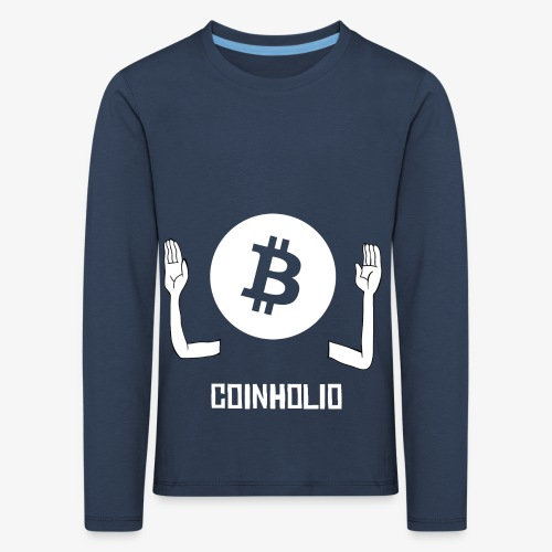 HODL coin holio-w - Kids' Premium Longsleeve Shirt