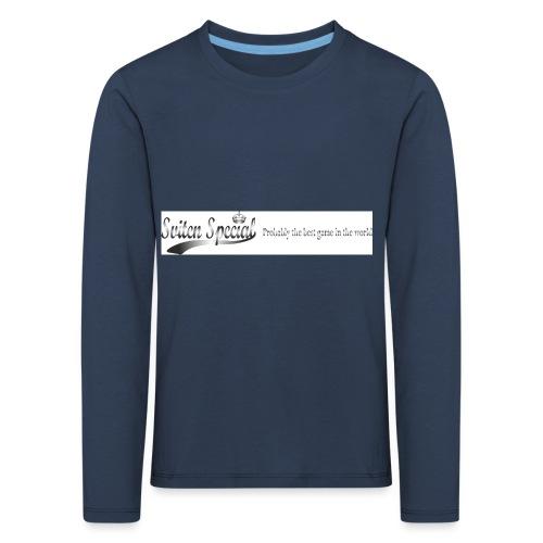 probably - Långärmad premium-T-shirt barn