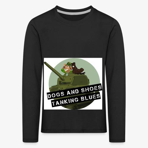 logo dogs nieuw - Kinderen Premium shirt met lange mouwen