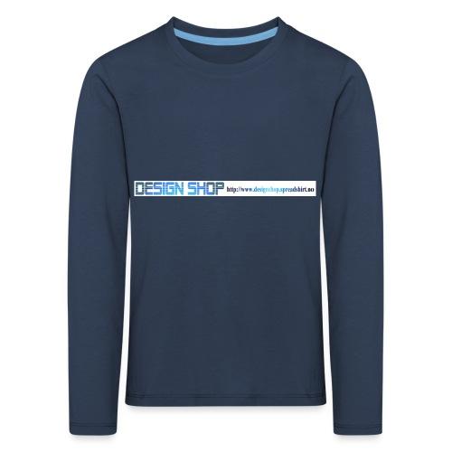 ny logo lang - Premium langermet T-skjorte for barn
