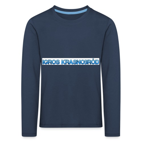 2-png - Koszulka dziecięca Premium z długim rękawem