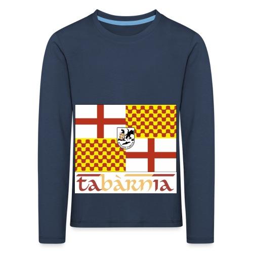 Bandera Tabarnia letra simran - Camiseta de manga larga premium niño