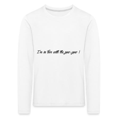 Pow-pow - T-shirt manches longues Premium Enfant