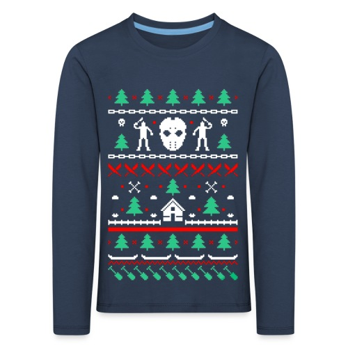 Ugly Friday 13th Crystal Lake - T-shirt manches longues Premium Enfant