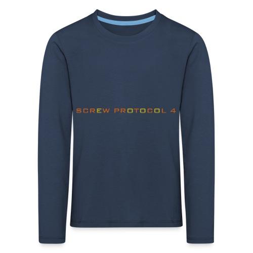 ScrewP4 Final - Kids' Premium Longsleeve Shirt