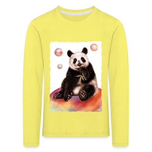 Panda World - Maglietta Premium a manica lunga per bambini