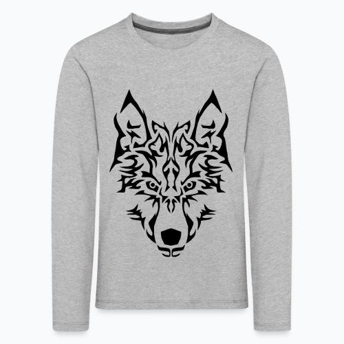 Tribal Wolf - T-shirt manches longues Premium Enfant