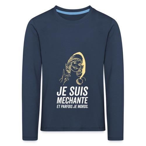 Tshirt Femme - T-shirt manches longues Premium Enfant