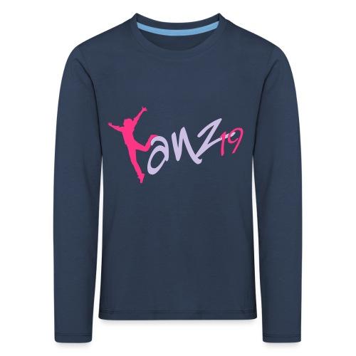 Tanz19 Logo - Kinder Premium Langarmshirt