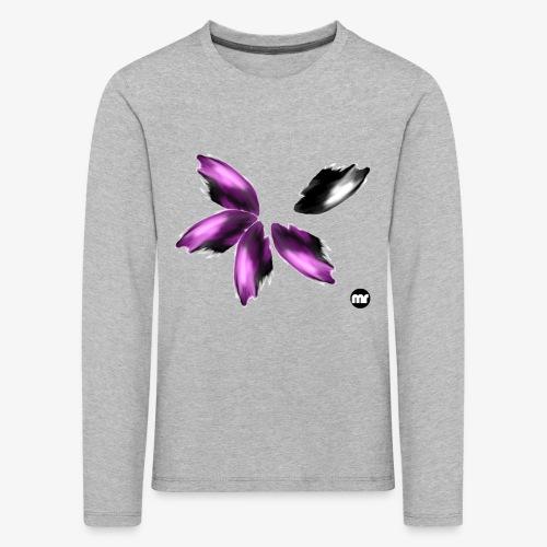 Sembran petali ma è l'aurora boreale - Maglietta Premium a manica lunga per bambini
