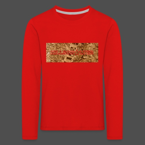 KILLSCHALTER Track - Koszulka dziecięca Premium z długim rękawem