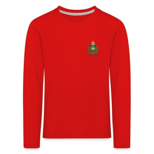 Império do Brasil - Premium langermet T-skjorte for barn