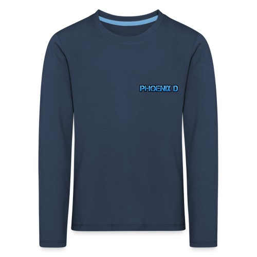 Phoenix D - Kids' Premium Longsleeve Shirt