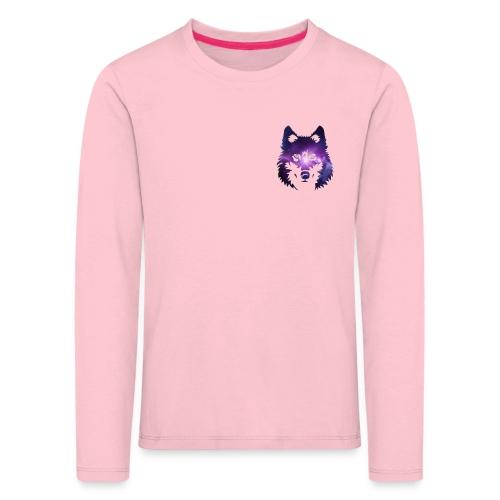 Galaxy wolf - T-shirt manches longues Premium Enfant