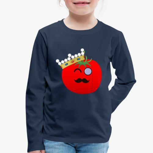 Tomatbaråonin - Långärmad premium-T-shirt barn