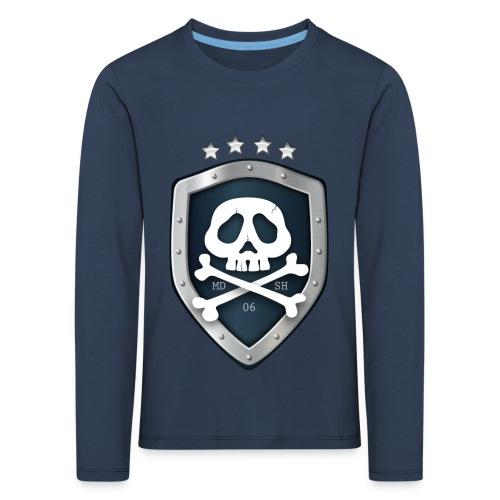 champion's league skull 06 - T-shirt manches longues Premium Enfant