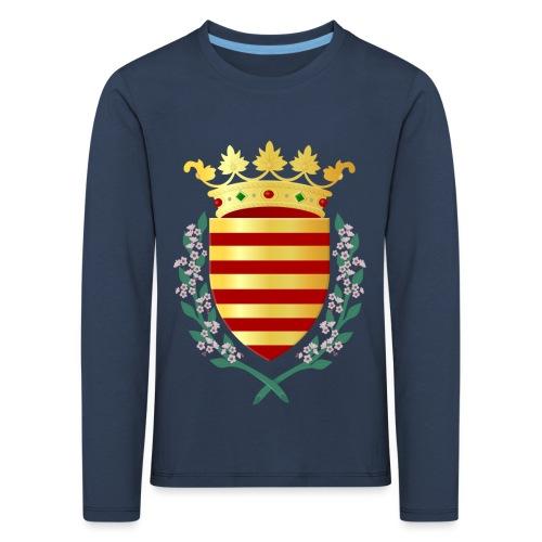 Wapenschild Borgloon - Kinderen Premium shirt met lange mouwen