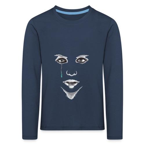 Blue tear - T-shirt manches longues Premium Enfant