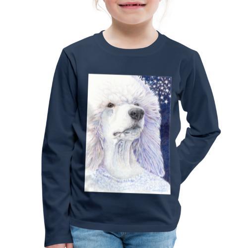 Poodle DreamDog - Børne premium T-shirt med lange ærmer