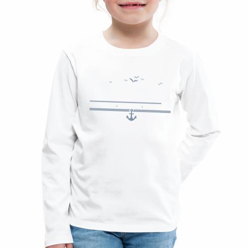 Flensburg - meine Heimat, mein Hafen, mein Kiez - Kinder Premium Langarmshirt