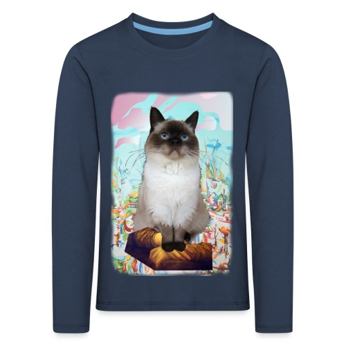 looking for unicorns - Kinderen Premium shirt met lange mouwen