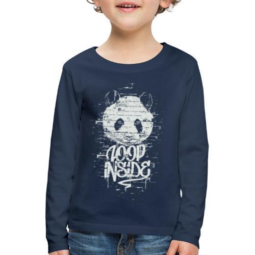 Graffiti Panda Inside - Kinder Premium Langarmshirt