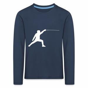 Fencer - Kinder Premium Langarmshirt