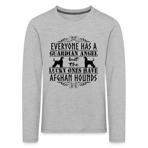 Afghan Hound Angels - Kids' Premium Longsleeve Shirt