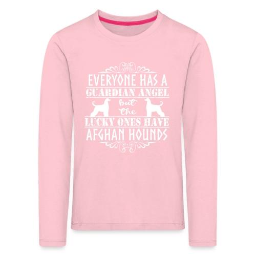 Afghan Hound Angels 2 - Kids' Premium Longsleeve Shirt