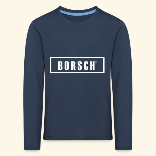 Borsch - Børne premium T-shirt med lange ærmer
