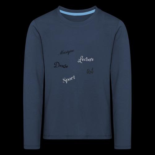 loisirs,détente. - T-shirt manches longues Premium Enfant