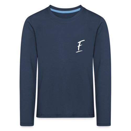 Radio Fugue F Blanc - T-shirt manches longues Premium Enfant