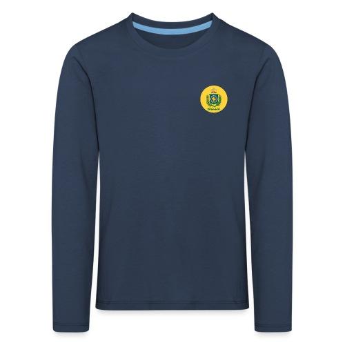 Monarquia Brasil - Premium langermet T-skjorte for barn