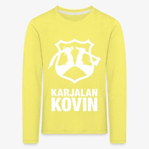 karjalan kovin pysty - Lasten premium pitkähihainen t-paita
