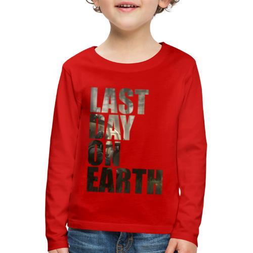 Último día en la tierra - Camiseta de manga larga premium niño