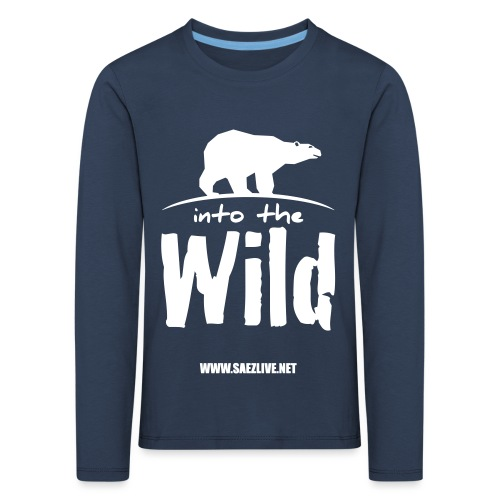 Into the wild (version light) - T-shirt manches longues Premium Enfant