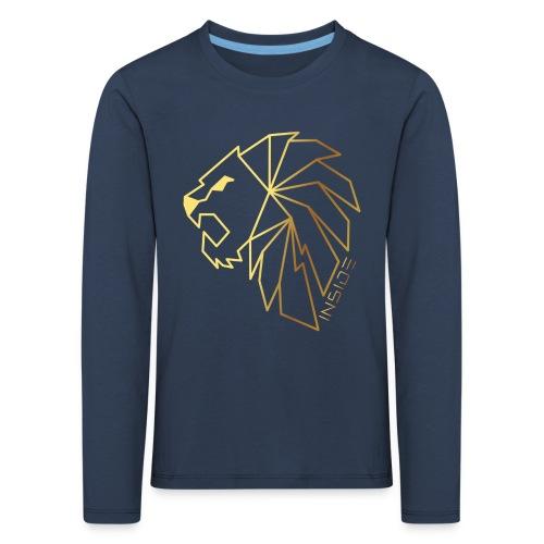 Löwe, Lion Inside - Kinder Premium Langarmshirt