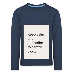 Keep calm - Kids' Premium Longsleeve Shirt