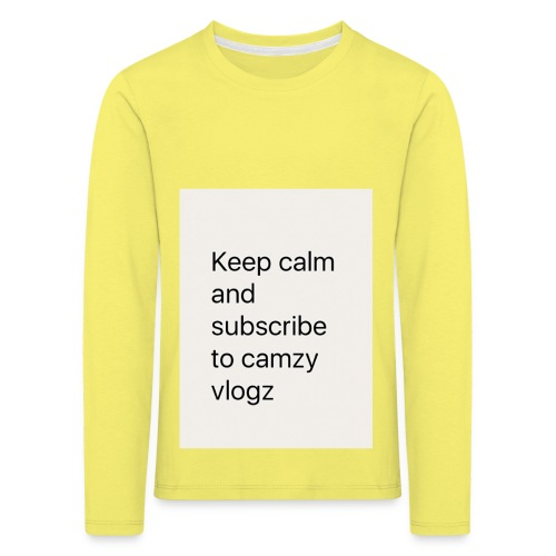 Keep calm - Kids' Premium Longsleeve Shirt