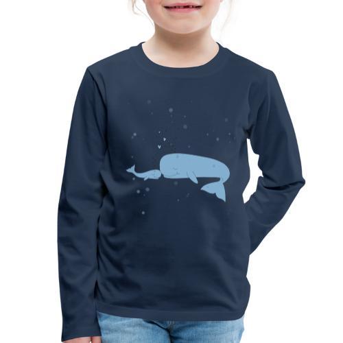 Wal - Kinder Premium Langarmshirt