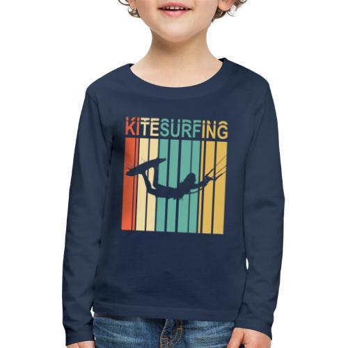 Kitesurfing - T-shirt manches longues Premium Enfant