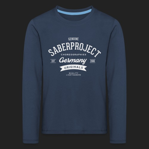 SP Originals - weiß - Kinder Premium Langarmshirt